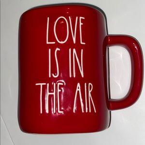 Rae Dunn love is in the air mug